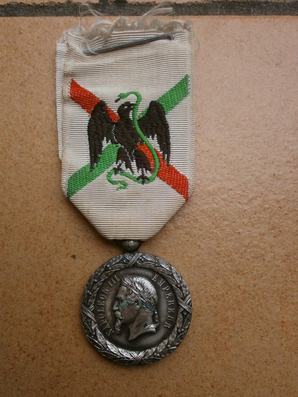 Medaille du Mexique  Camerone Medai194