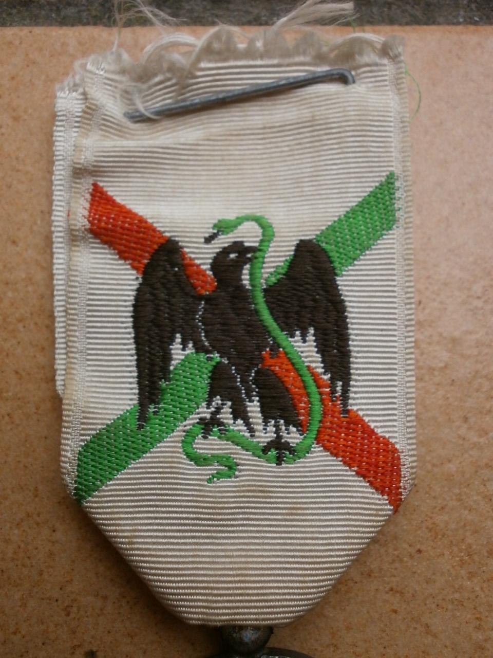 Medaille du Mexique  Camerone Medai195
