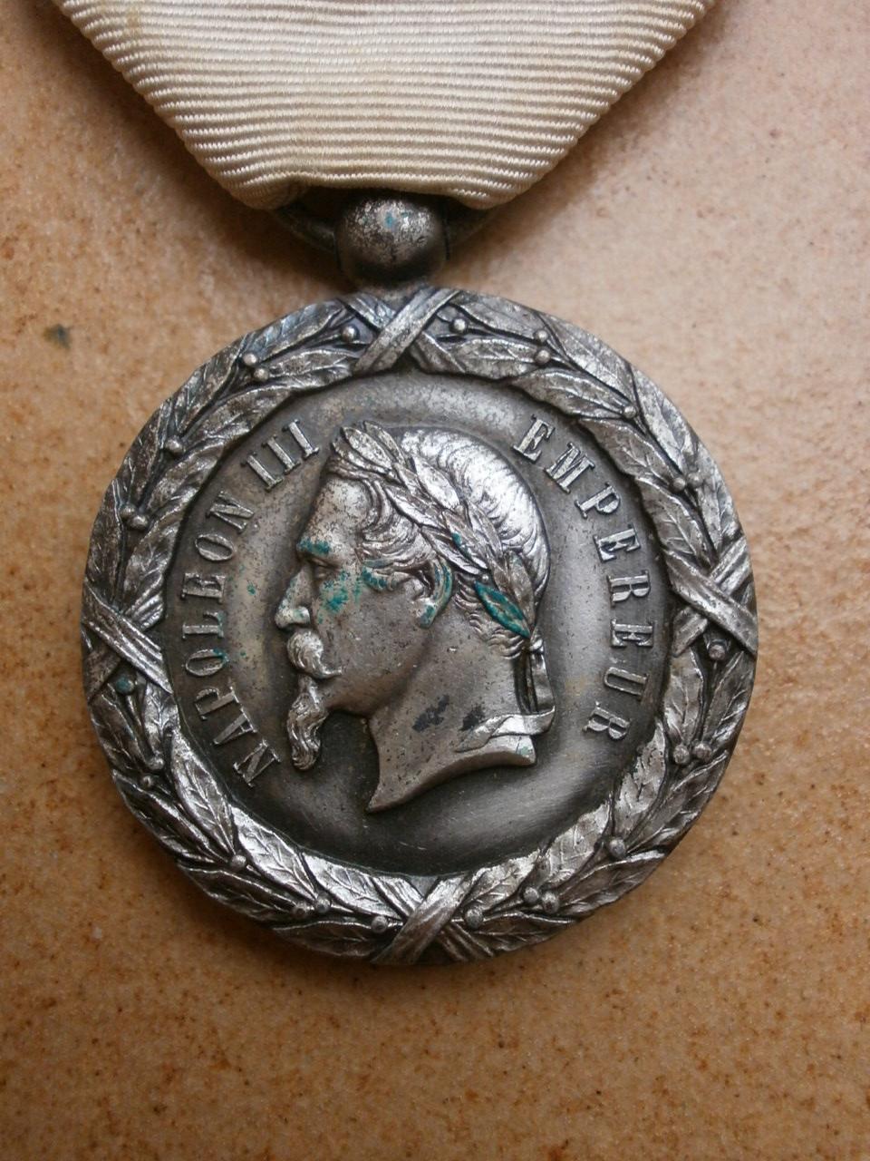 Medaille du Mexique  Camerone Medai196