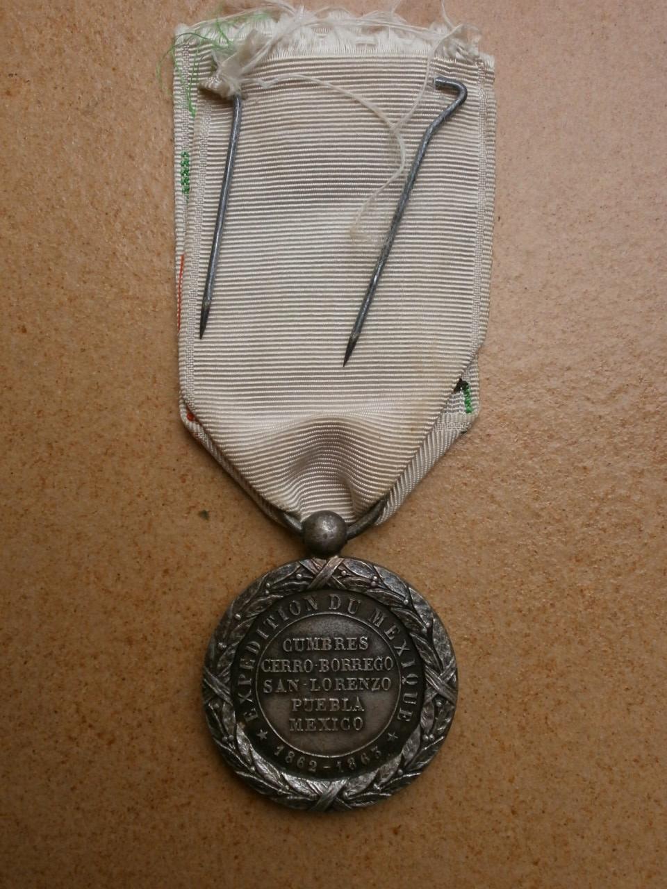 Medaille du Mexique  Camerone Medai197