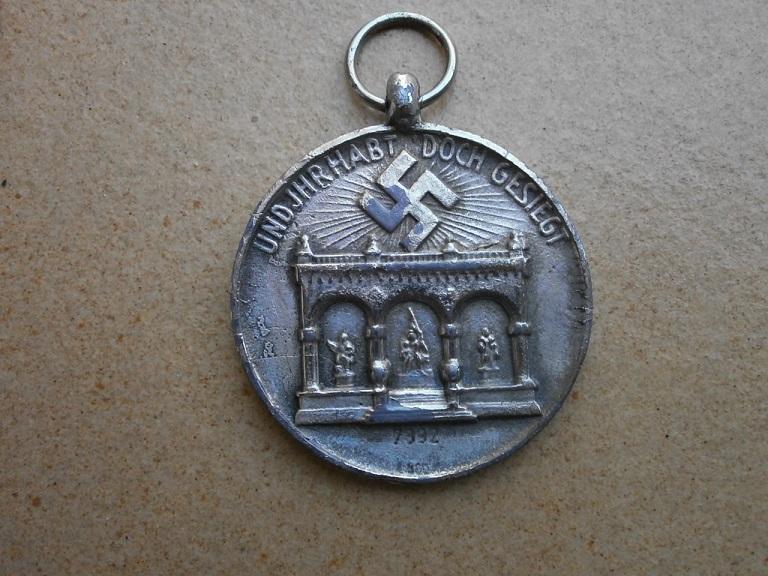 medaille allemande  Medai214