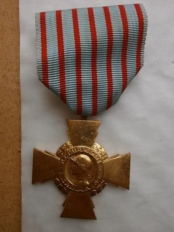 Sortie dans le 77 de la medaille Medail45