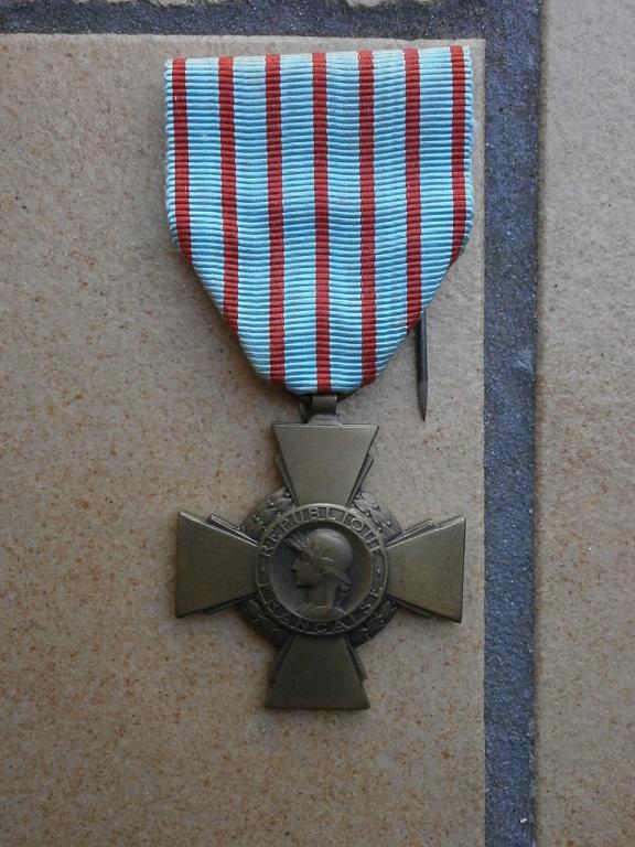 rentrée médailles WW1 Medail84