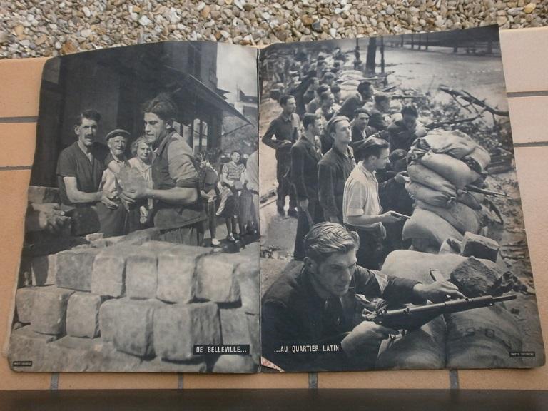 rentée liberation paris et pacifique  + police raid P8260012