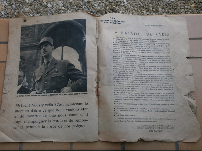 rentée liberation paris et pacifique  + police raid P8260014