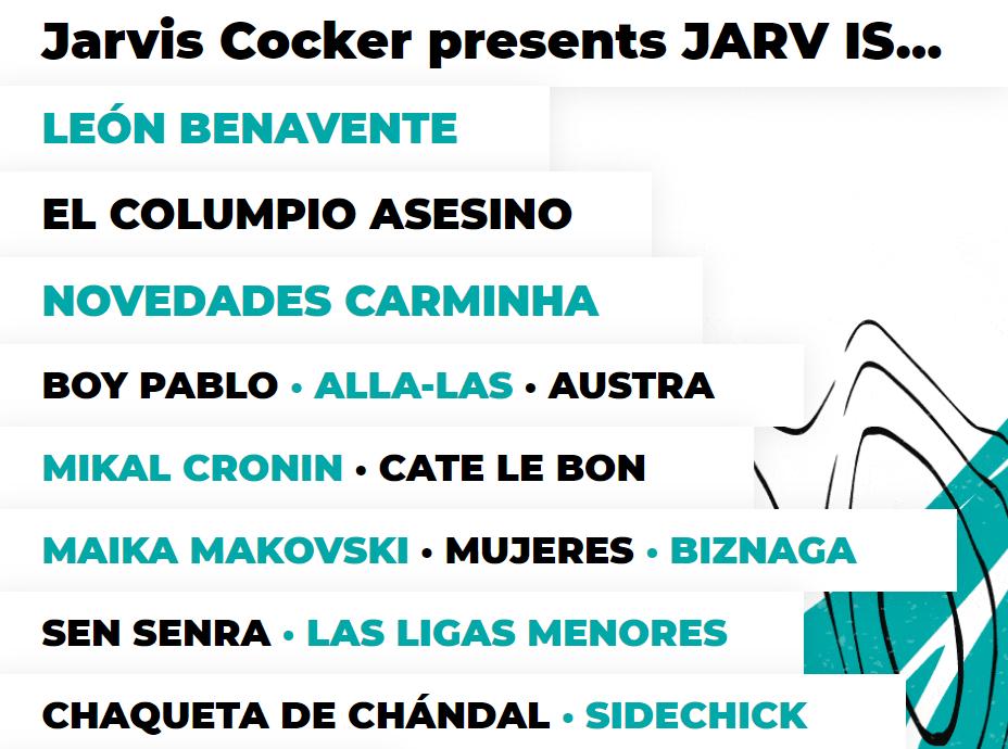 Tomavistas 2021 (Madrid): Jarvis Cocker, Suede, León Benavente, El Columpio Asesino Captur22