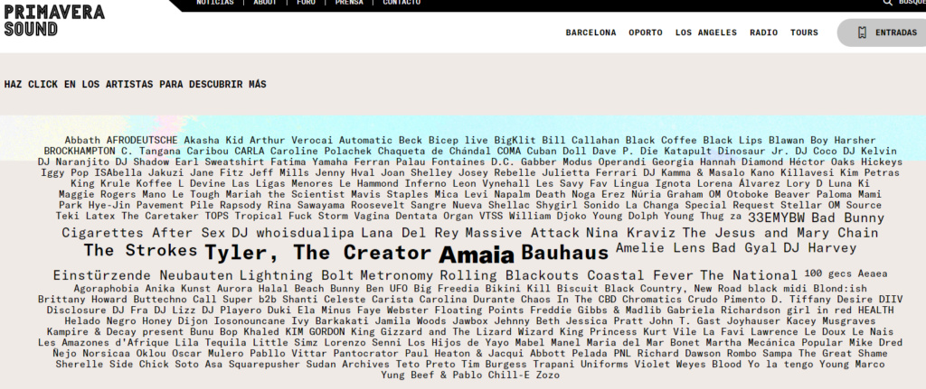 Primavera Sound 2020. Pavement, Beck, Dinosaur Jr., Fontaines DC, Kurt Vile, King Gizzard, Iggy Pop, Mavis Staples, Napalm Death - Página 15 Dd10