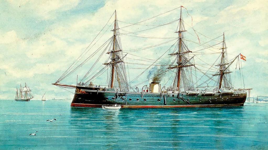 """Frégate """"Numancia"""" 1864-2000 Numanc10"""