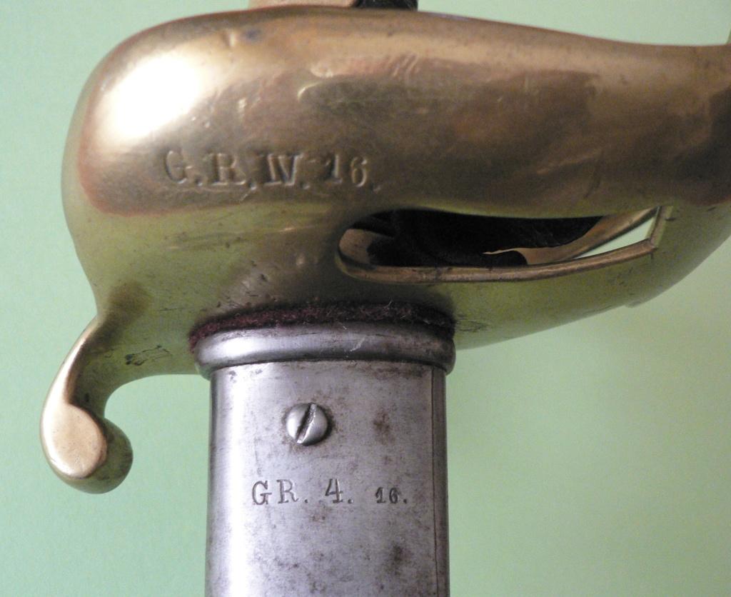 SABRE ALEMAND 1852 VERSUS 1867? P1230014