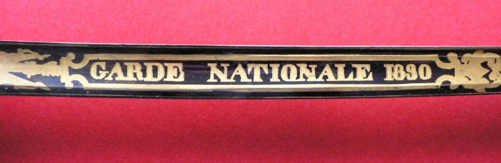 Sabre 1821 Garde Nationale P1230436