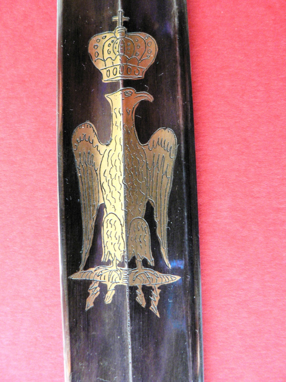 Un grand sabre inhabituel. Premier Empire? P1230516