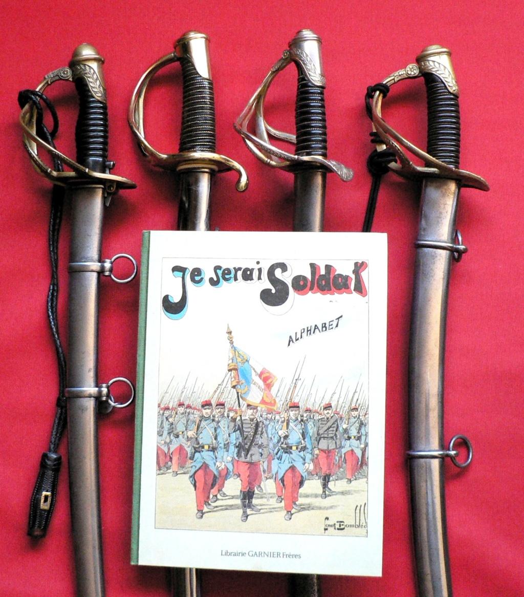 """4 sabres capricieux de """"La Légère"""": 1816 et 1822 P1240313"""