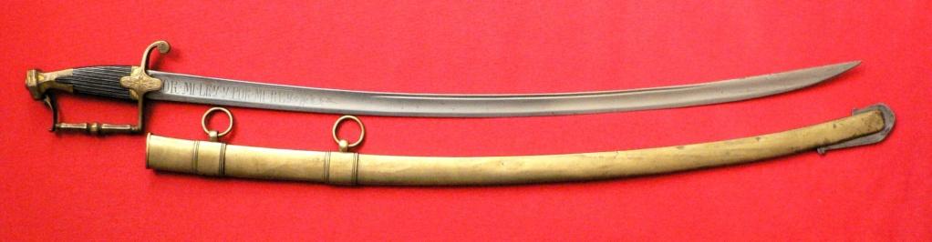 Sabre d'officier de cavalerie légère 1800 P1250038