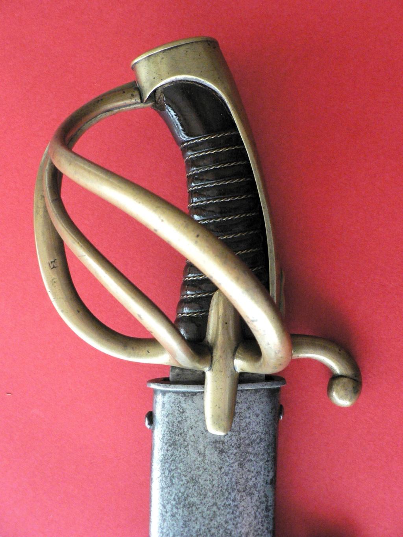 sabre de cavalerie légère dit a la chasseur AN , mais... P1250122
