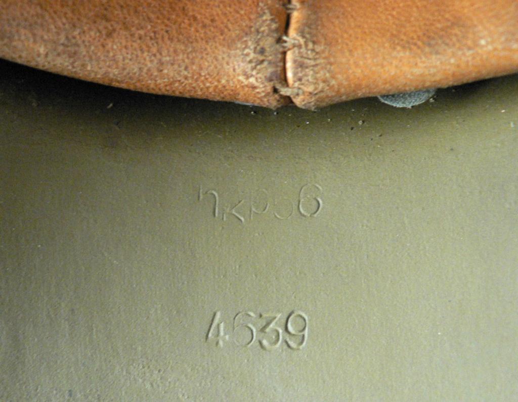 """Casque allemand """"35"""" couleur sable P1260541"""