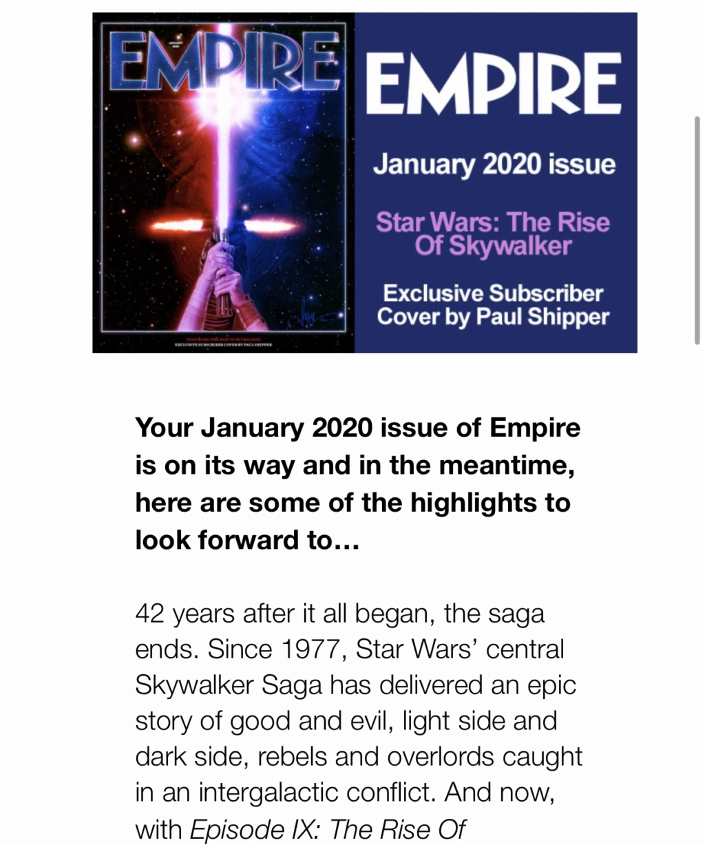 The Rise of Skywalker: Marketing - Page 3 D7fc2810