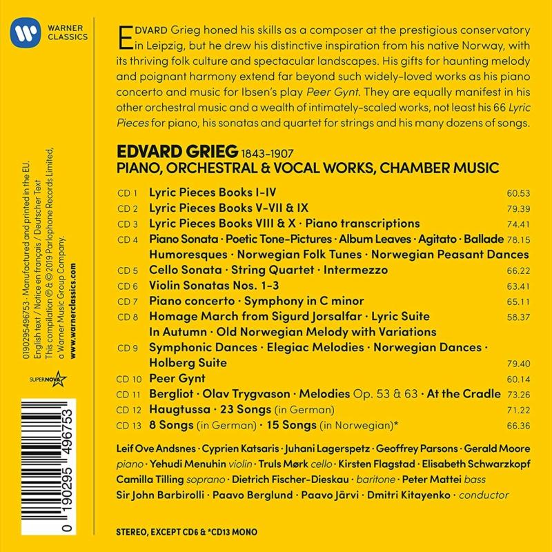 Grieg-Mélodies diverses 27076110