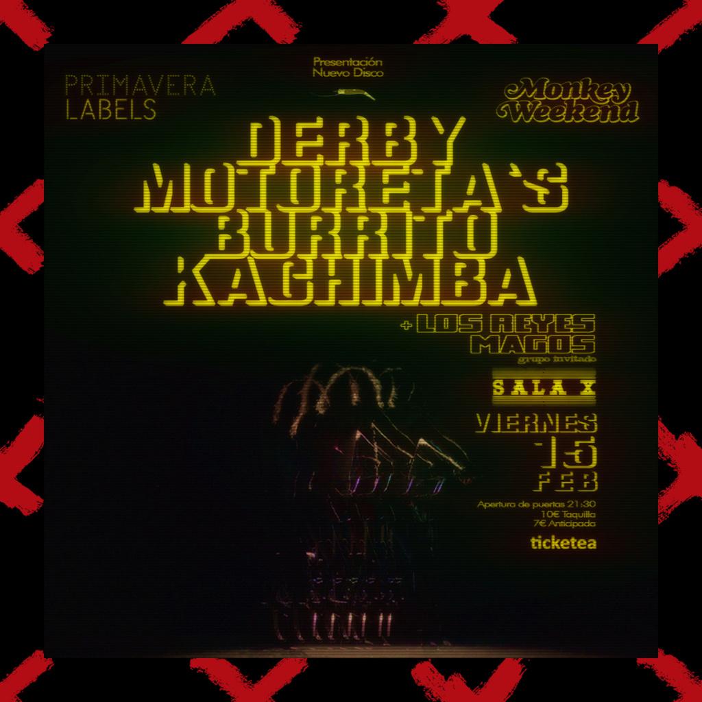 Derby Motoreta's Burrito Kachimba  Dmbk-i10