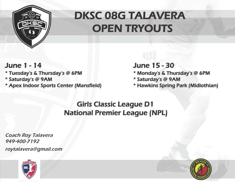 DKSC 08G Talavera - D1 Bye & NPL - Open Practices Dksc_g12