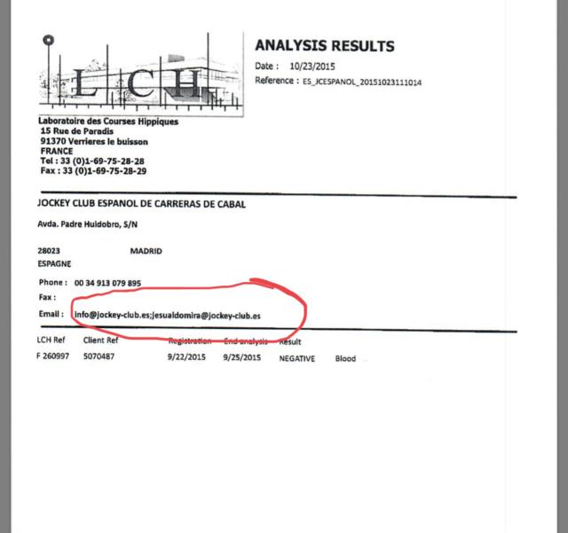 Resolución de los Sres. Comisarios del Comité de Disciplina del Jockey Club Español por incumplimiento de la sanción impuesta a la entrenadora Dª Ana Imaz Ceca por resolución del Comité de Disciplina del 30 noviembre 2017 - Página 3 75dab210