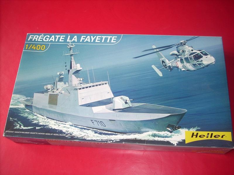 Frégate légère furtive Type La FAYETTE (et kit ARSENAL Réf KC 400 02)  Réf 81035 Dscn6213