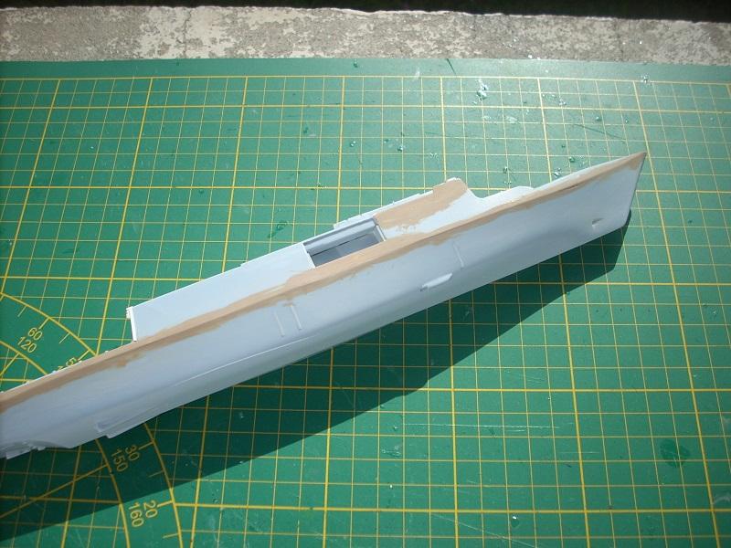 Frégate légère furtive Type La FAYETTE (et kit ARSENAL Réf KC 400 02)  Réf 81035 Dscn6230