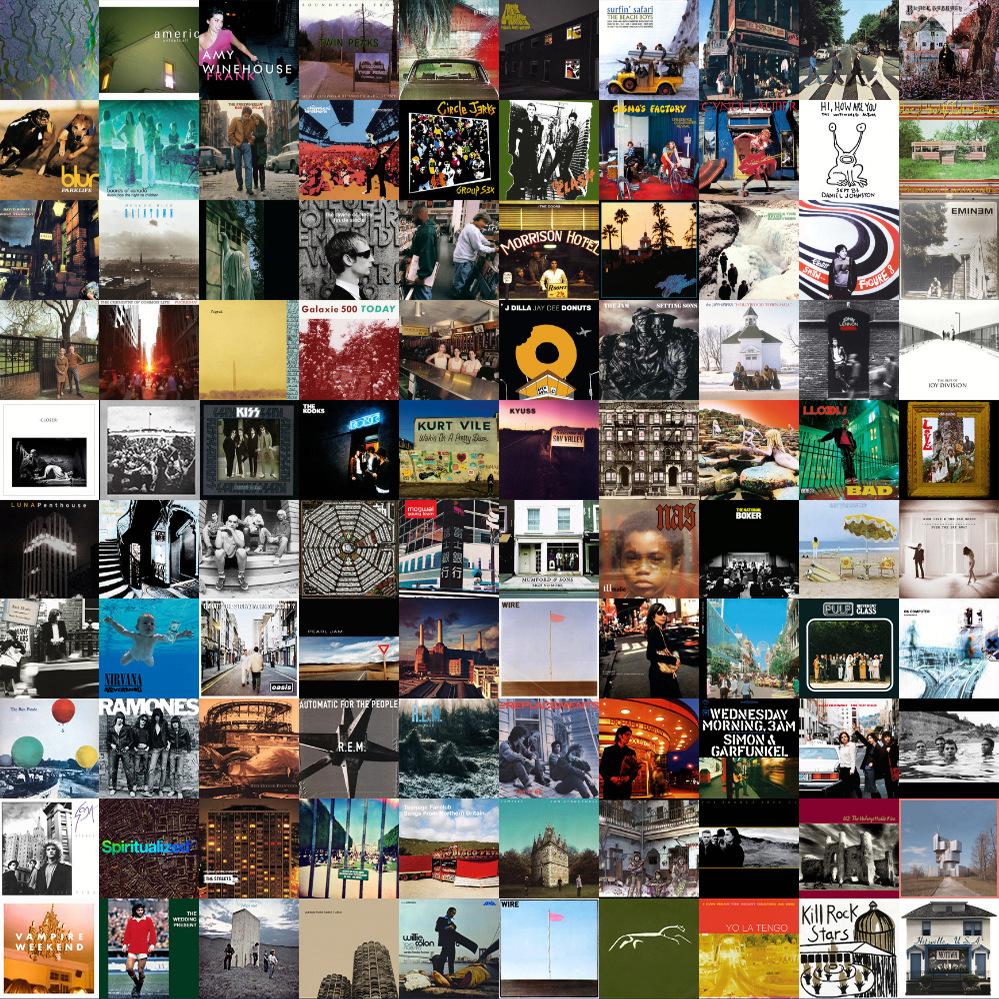 NUEVO LIBRO - Under Covers: Historias en cubiertas (Una guía de viaje por las portadas de discos) - Página 3 Collag10