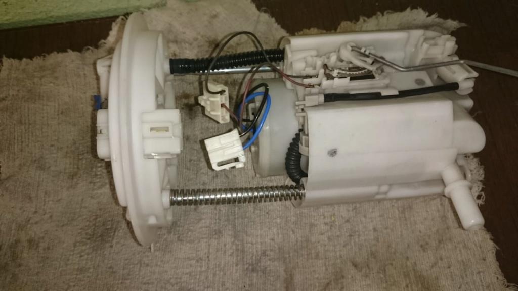 Замена топливных фильтров и насоса 0110