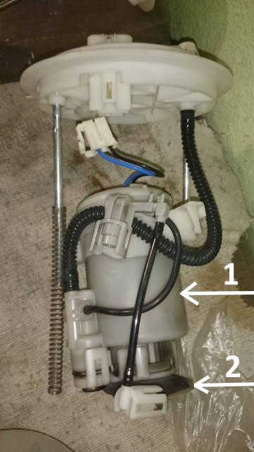 Замена топливных фильтров и насоса 0210
