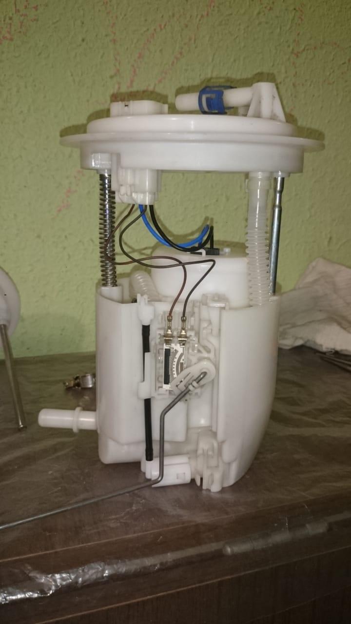 Замена топливных фильтров и насоса 0510
