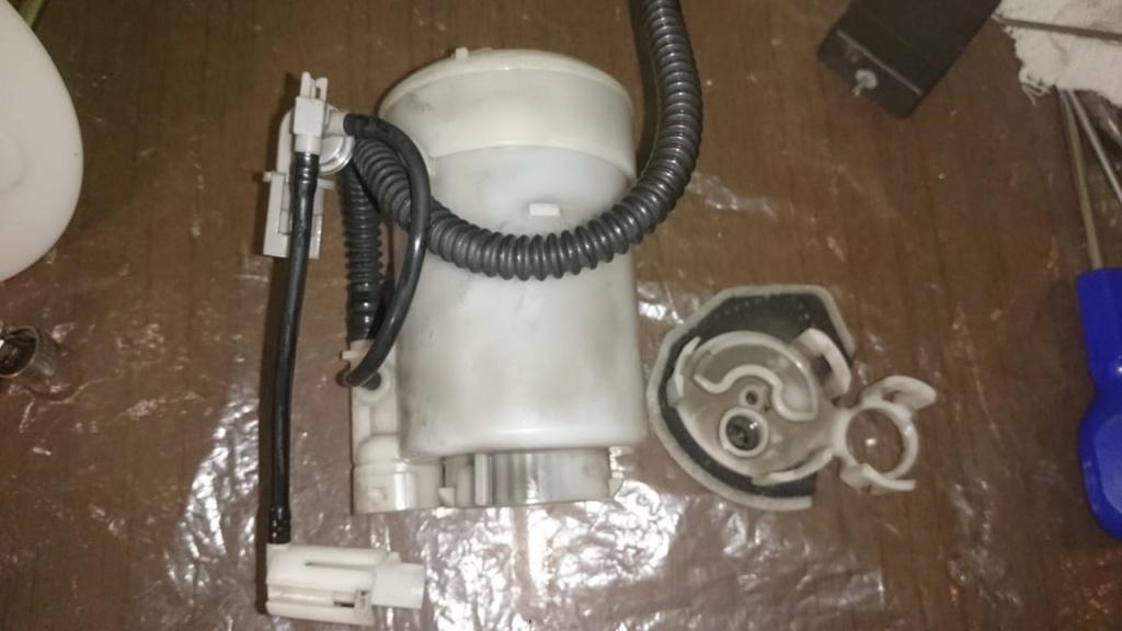Замена топливных фильтров и насоса 0710