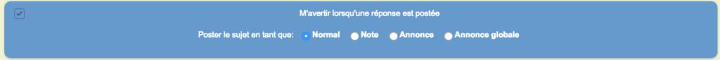 Supprimer désactiver le HTML, les BBcode et les smileys dans ce message Apreas10
