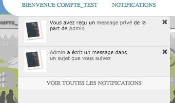 Afficher l'avatar dans les notifications Avatar10