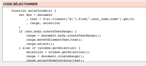 Ajouter le bouton de sélection de contenu Code11