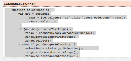 Ajouter le bouton de sélection de contenu Code12