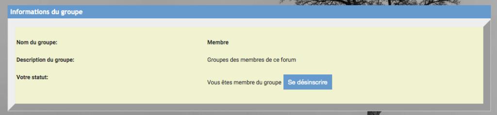 Interdire la désinscription d'un groupe Gp_ava10