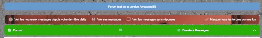 [AWESOMEBB] Modifier le message sur la page d'accueil Sans_t12