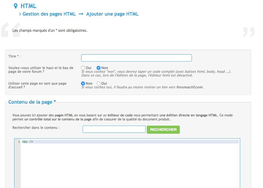 [Tuto] Créer une page HTML Tuto_t30