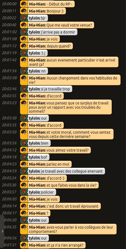 [C.H.U] Rapports d'actions RP de Mia-Miam 0135