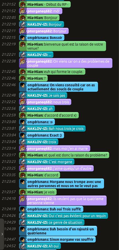 [C.H.U] Rapports d'actions RP de Mia-Miam 117
