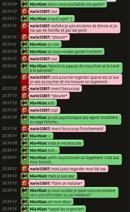 [C.H.U] Rapports d'actions RP de Mia-Miam 121