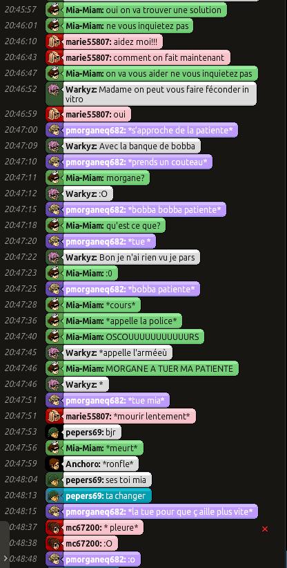 [C.H.U] Rapports d'actions RP de Mia-Miam 415