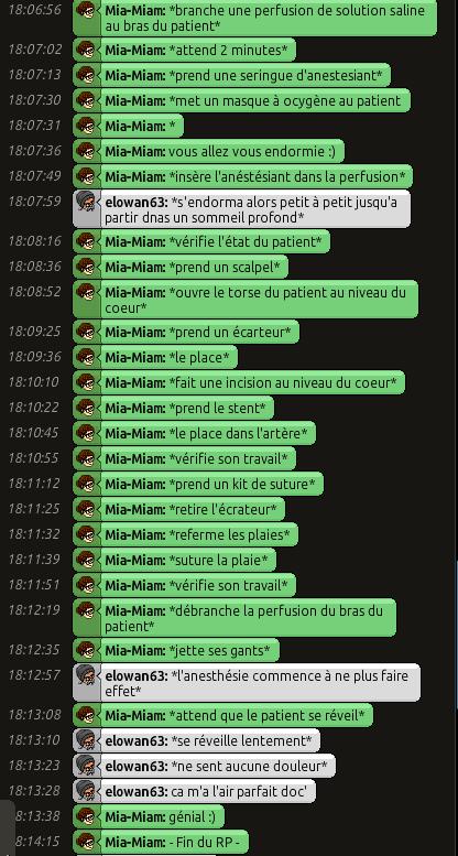 [C.H.U] Rapports d'actions RP de Mia-Miam Rp_210