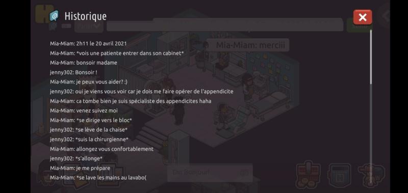 [C.H.U] Rapports d'actions RP de Mia-Miam - Page 4 Scree121