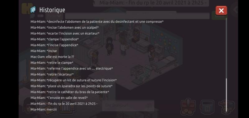 [C.H.U] Rapports d'actions RP de Mia-Miam - Page 4 Scree122