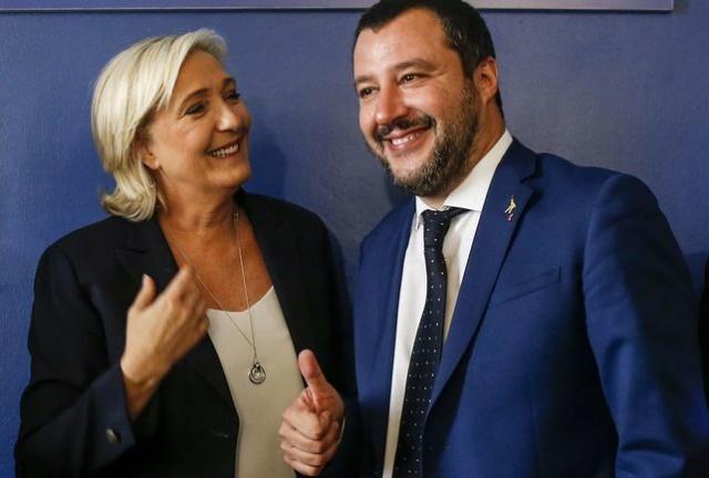 """[EFE] """"La ultraderecha europea zanja sus diferencias, se agrupa y busca impulso de cara a mayo"""" Rome-m10"""