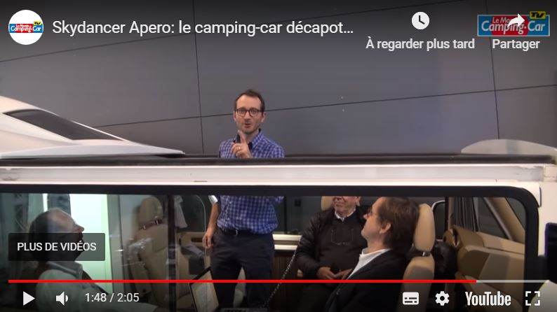 Skydancer Apero: le camping-car à ciel ouvert Skydan10