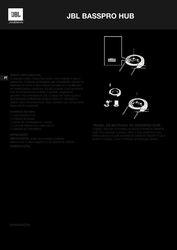 Caixa JBL Bass ProHub Image010