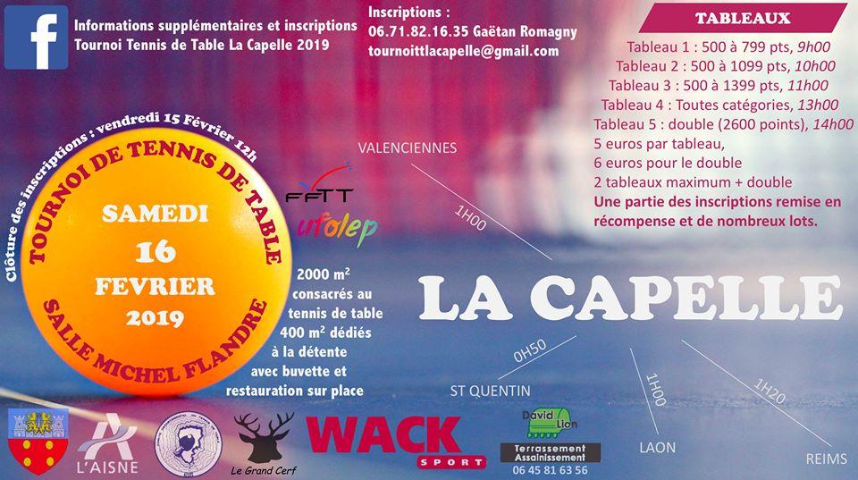 Tournoi La Capelle (02) Affich11