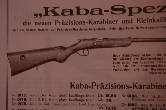 Carabine 6mm KABA, ça vous parle ? Kaba_611